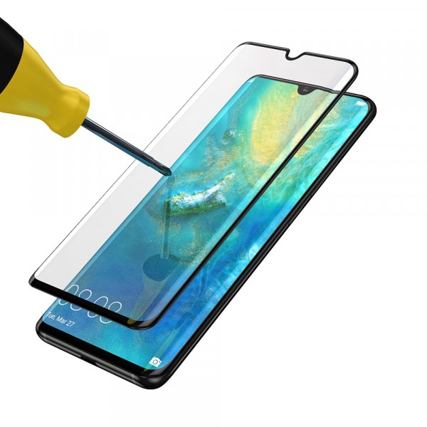 BeHello High Impact Glass Zwart voor Huawei Mate 20