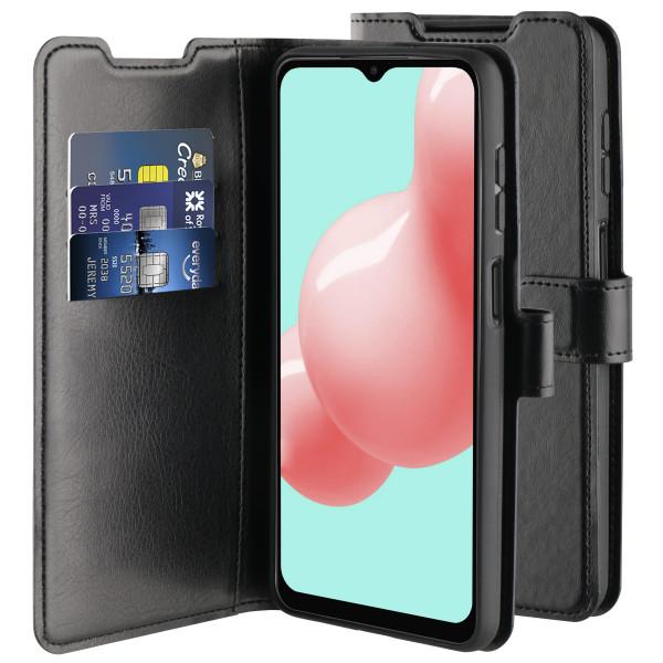 BeHello Samsung Galaxy A32 Gel Wallet Hoesje - Zwart