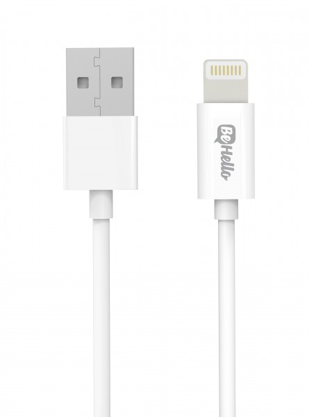 BeHello iPhone I iPad Oplaadkabel Lightning (1.2m) Wit