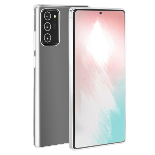 BeHello Samsung Galaxy Note20 ThinGel Siliconen Hoesje - Transparant