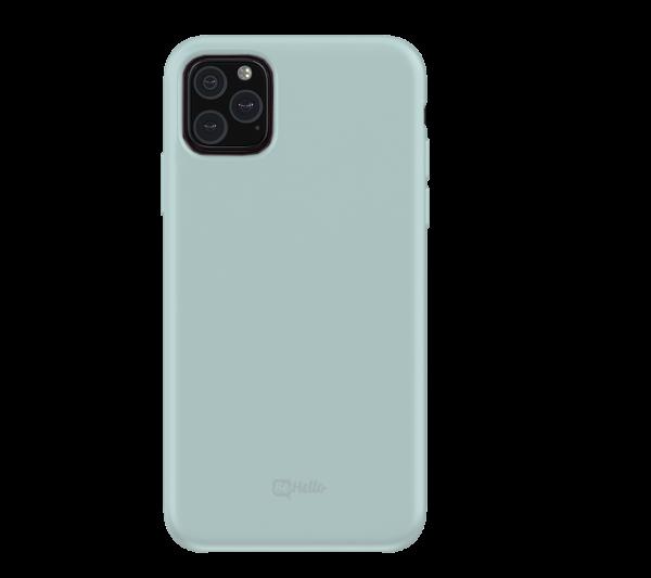 BeHello Premium iPhone 11 Pro Liquid Siliconen Hoesje - Blauw