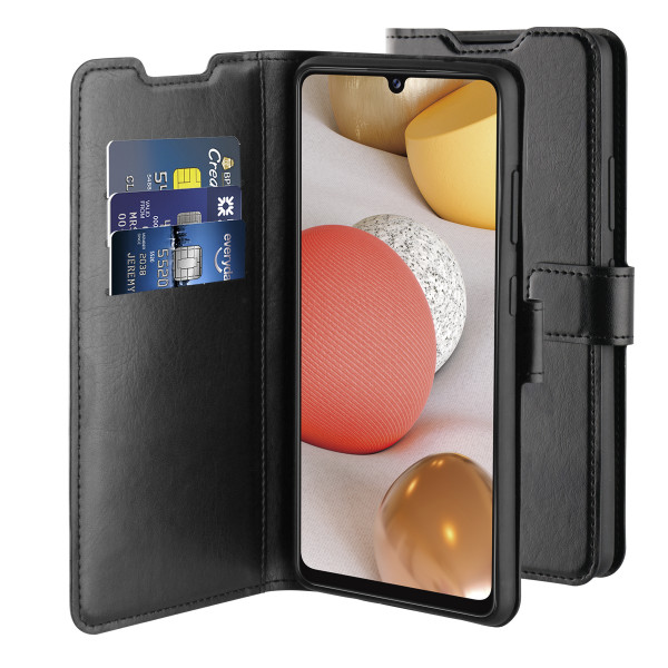BeHello Samsung Galaxy A42 Gel Wallet Case Black