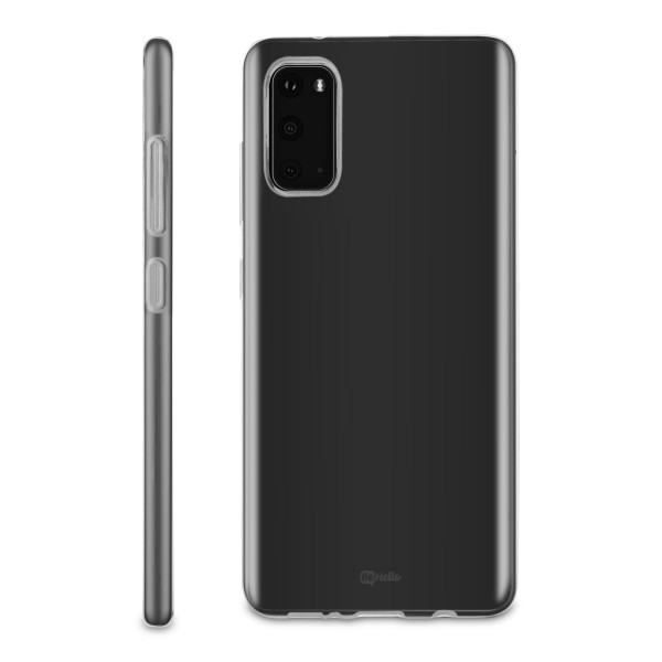 BeHello Samsung Galaxy S20 ThinGel Siliconen Hoesje Transparant