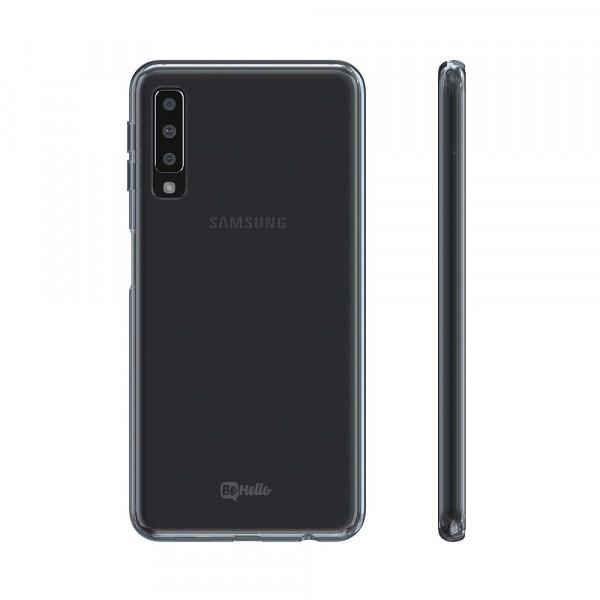 BeHello Thingel Case Clear Transparant voor Samsung Galaxy A7 (2018)