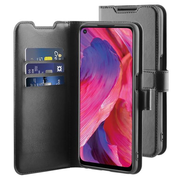 BeHello Oppo A74 Gel Wallet Case Black