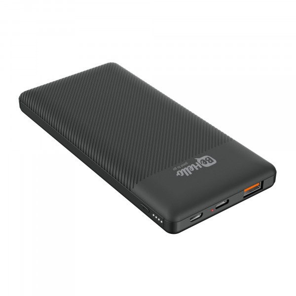 BeHello Powerbank 10000 mAh - Power Delivery (PD) 18W - QC 3.0 - Snelladen - Zwart