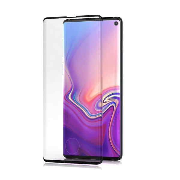 BeHello Samsung Galaxy S10 Screenprotector Tempered Glass - High Impact Glass Screenprotector