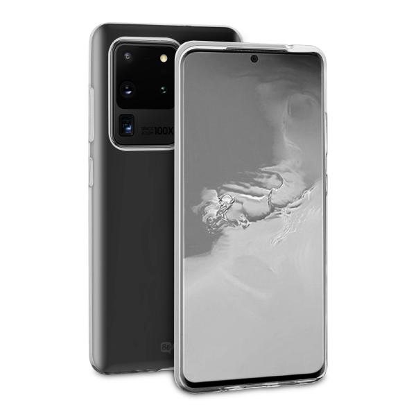 BeHello Samsung Galaxy S20 Ultra ThinGel Siliconen Hoesje Transparant