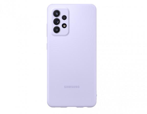 Samsung A52 Silicone Cover Case Violet