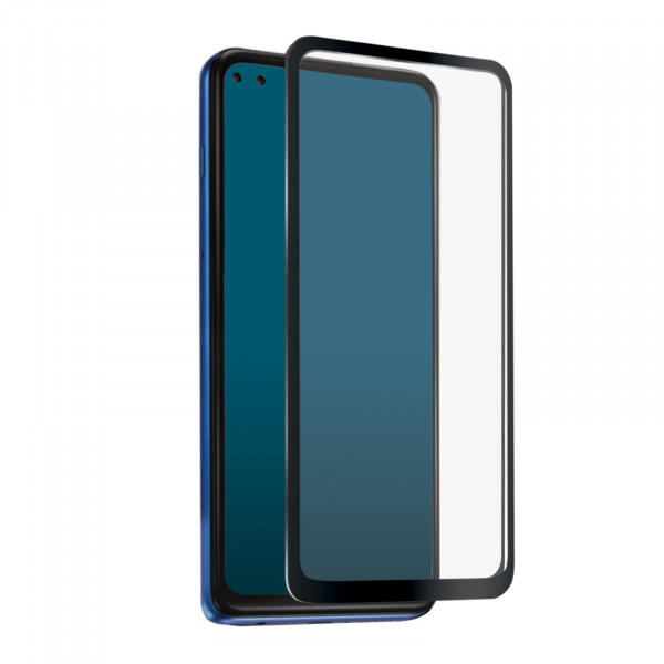 SBS Samsung Galaxy A12 / A32 Full Cover High Impact Glass Screen Black