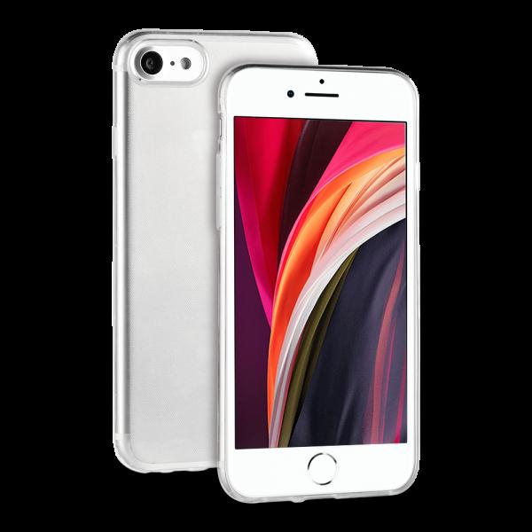 BeHello iPhone SE (2020) / 8 / 7 ThinGel Hoesje Transparant