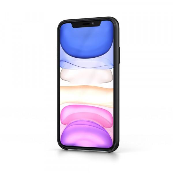 BeHello iPhone 11 Siliconen Hoesje Zwart