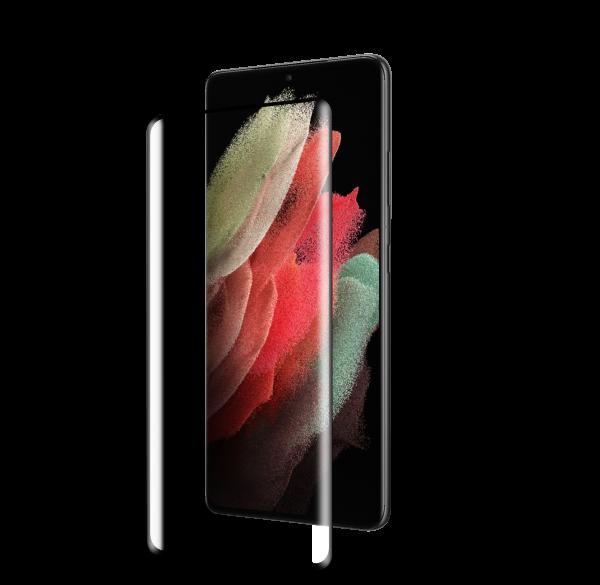 BeHello Samsung Galaxy S21 Ultra High Impact Glass Screen (AP) Anti-Bacterial