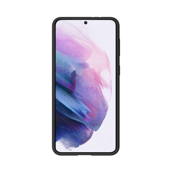 BeHello Samsung Galaxy S21+ Liquid Silicone Case Black