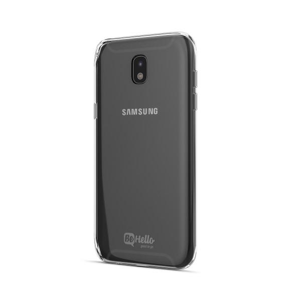 BeHello Samsung Galaxy J7 2017 Gel Case Transparant