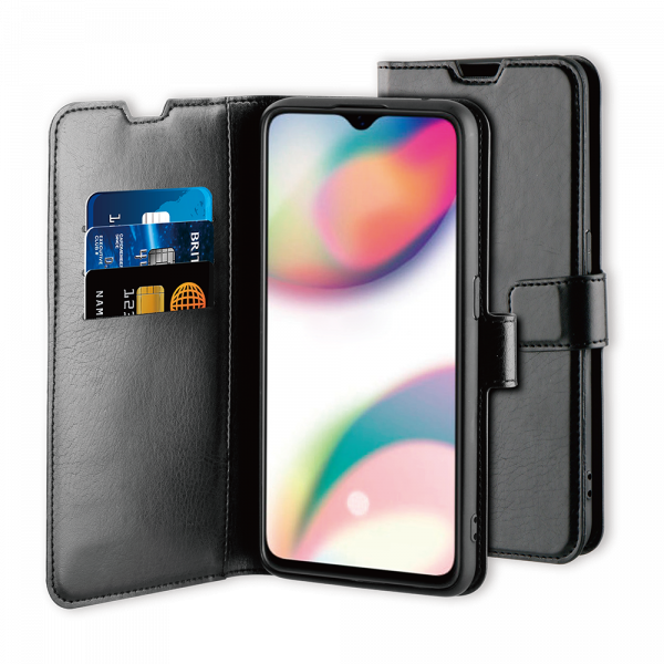 BeHello Oppo Reno Z Gel Wallet Case Black