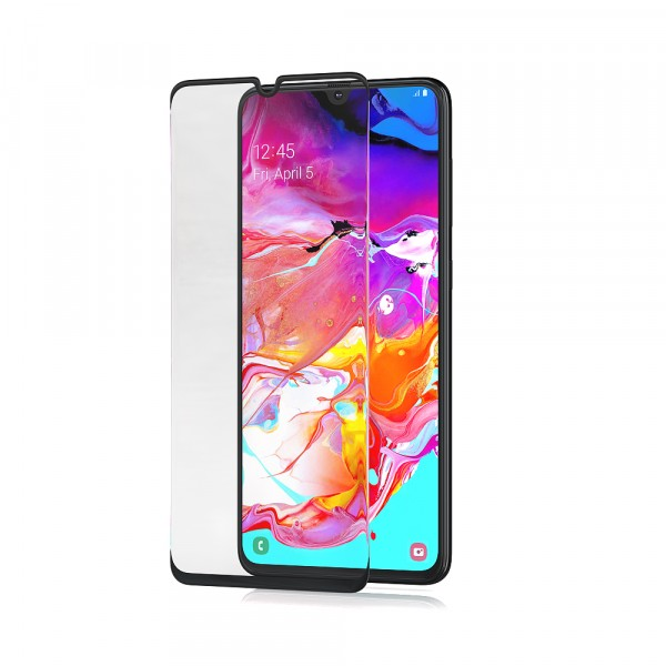 BeHello Samsung Galaxy A70 Screenprotector Tempered Glass - High Impact Glass