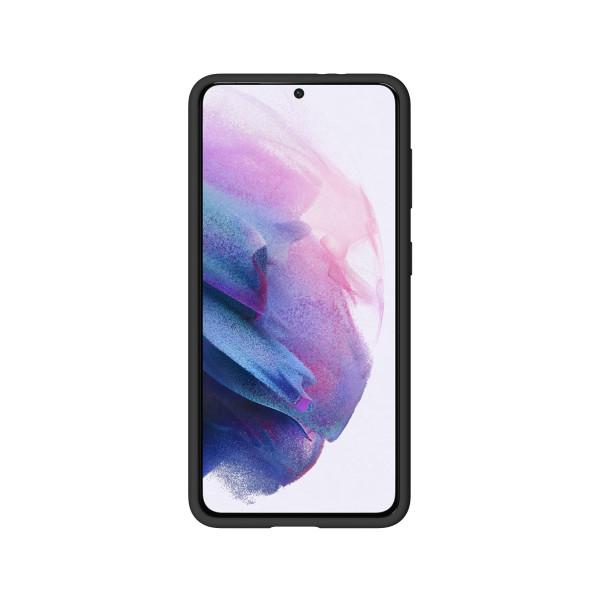 BeHello Samsung Galaxy S21 Liquid Siliconen Hoesje - Zwart
