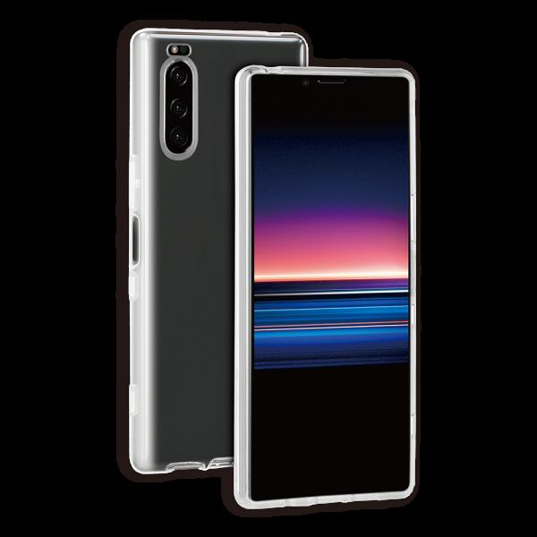 BeHello Sony Xperia 5 Gel Siliconen Hoesje Transparant