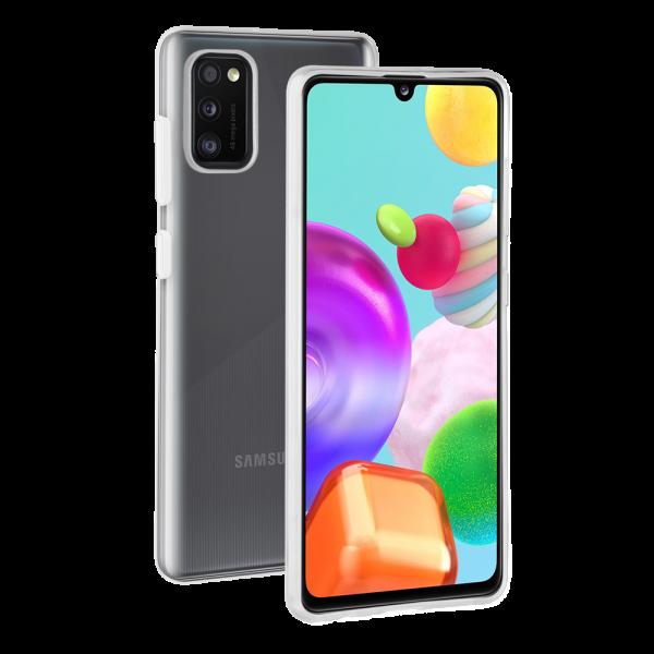 BeHello Samsung Galaxy A41 ThinGel Siliconen Hoesje Transparant