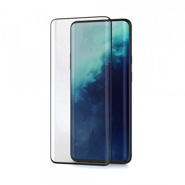 BeHello OnePlus 7T Pro Screenprotector Tempered Glass - High Impact Glass