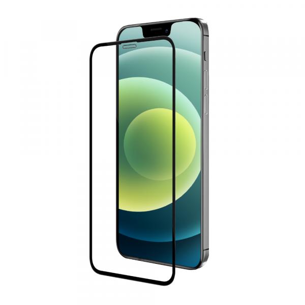 BeHello iPhone 12 mini Screenprotector - Antibacterieel High Impact Gehard Glas