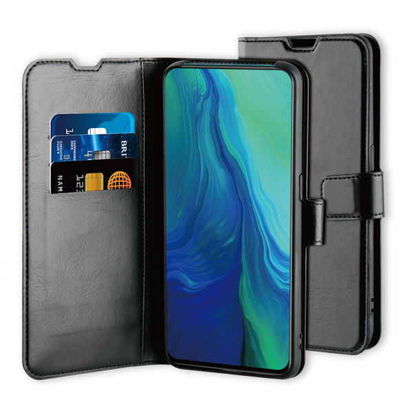 BeHello Oppo RX19 Pro Gel Wallet Case Black