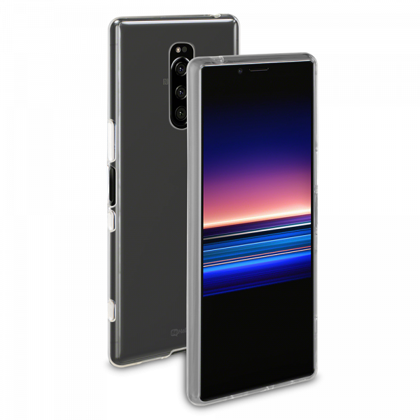 BeHello Sony Xperia 1 Gel Case Clear Transparent