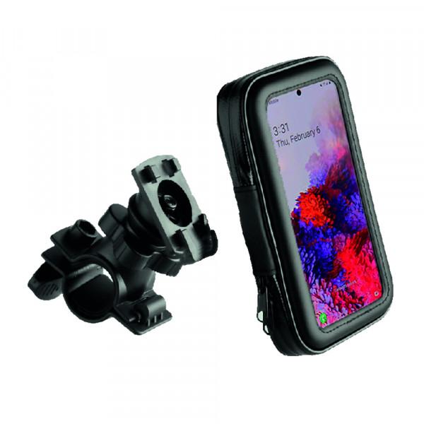 BeHello Universele Telefoon Fietshouder - Waterdicht - Voor toestellen tot 6.7 inch