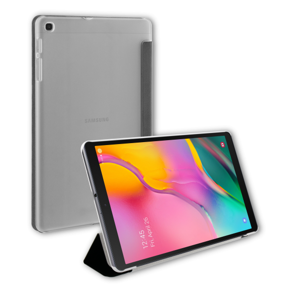BeHello Samsung Galaxy Tab A 10.1 (2019) Tablet Hoes met Smart Cover Zwart