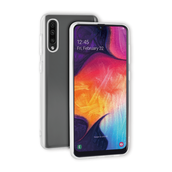 BeHello Samsung Galaxy A50 ThinGel Siliconen Hoesje Transparant