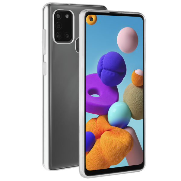 BeHello Samsung Galaxy A21s ThinGel Case Transparent