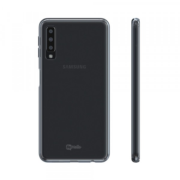 BeHello Samsung Galaxy A7 (2018) ThinGel Siliconen Hoesje - Transparant