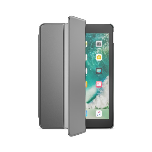 BeHello iPad (2017) Tablet Hoes met Smart Cover Zilver