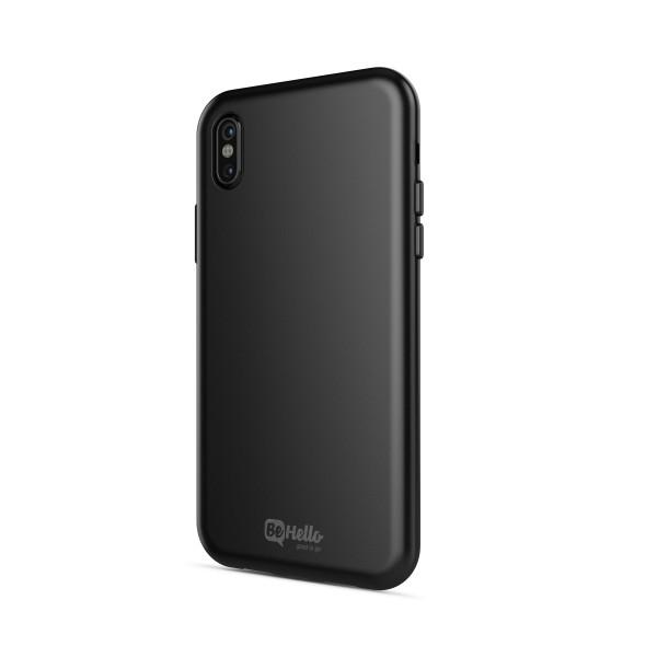 BeHello Gel Back Case Zwart voor iPhone X Xs