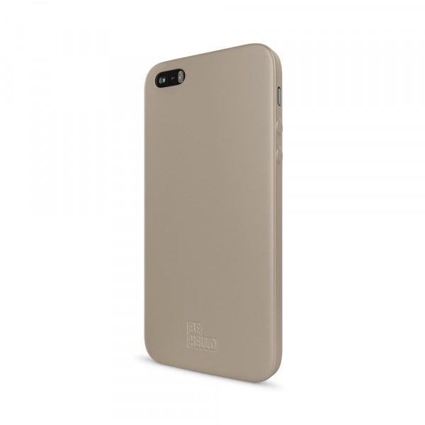 BeHello iPhone 5 / 5S / SE Soft Touch Gel Case Gold