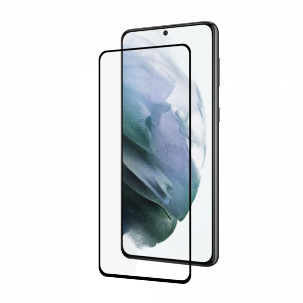 BeHello Samsung Galaxy S21 Screenprotector - Antibacterieel High Impact Gehard Glas