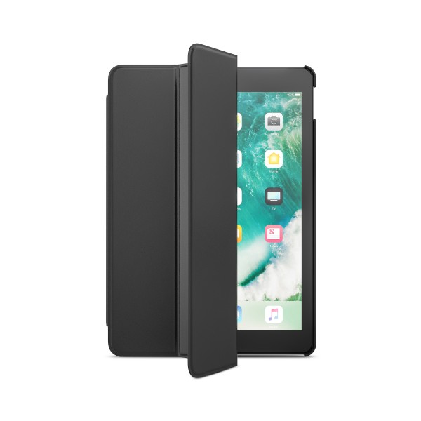 BeHello iPad (2017) Tablet Hoes met Smart Cover Zwart