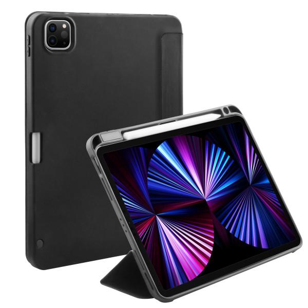 BeHello iPad Pro 12.9 2021 Smart Stand Case Black