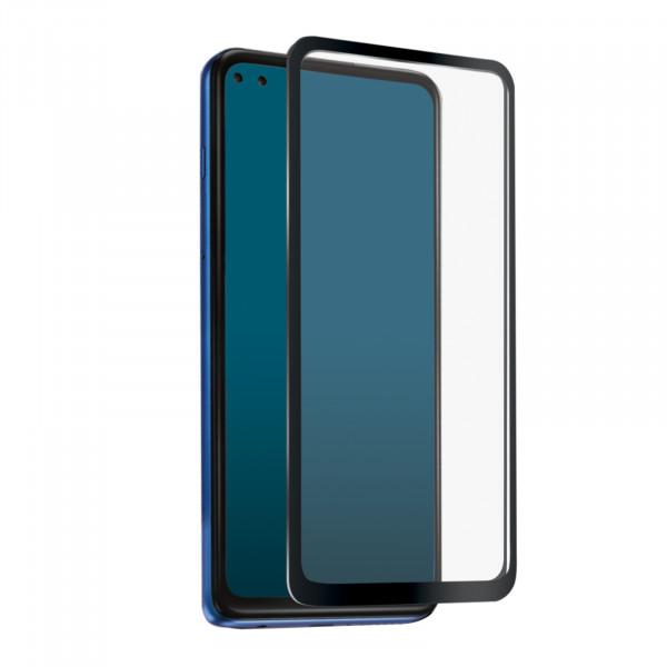 SBS Motorola Moto G9 Plus Full Cover High Impact Glass Screen Black