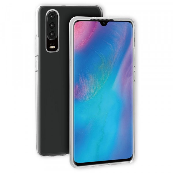 BeHello Huawei P30 Gel Case Clear Transparant