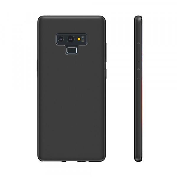 BeHello Premium Samsung Galaxy Note 9 Siliconen Hoesje Zwart