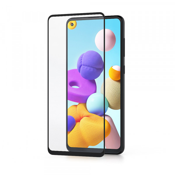 BeHello Samsung Galaxy A21s Screenprotector High Impact Glass