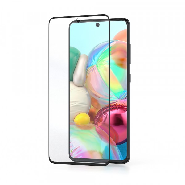 BeHello Samsung Galaxy A71 Screenprotector - High Impact Gehard Glas