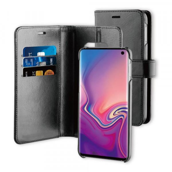 BeHello Samsung Galaxy S10E Hoesje I 2-in-1 Wallet Case met Ruimte Voor 3 Pasjes Zwart
