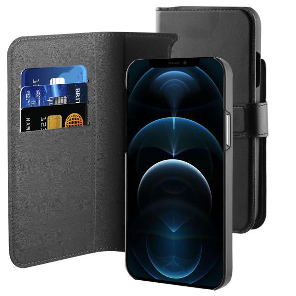 BeHello iPhone 13 / 13 Pro Hoesje 2-in-1 Wallet Case - Zwart