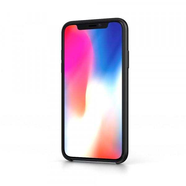 BeHello iPhone 11 Pro Liquid Siliconen Hoesje - Zwart