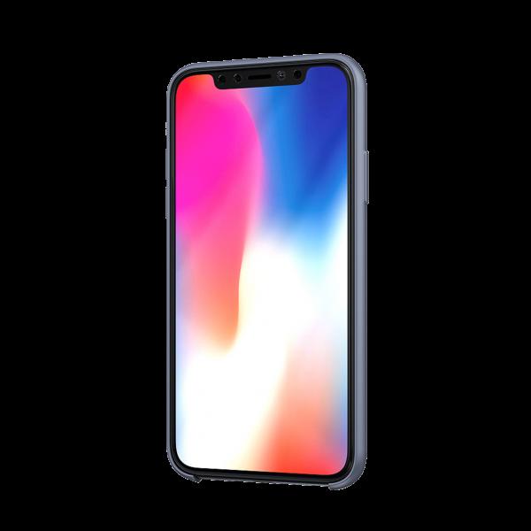 BeHello Premium iPhone 11 Pro Max Liquid Siliconen Hoesje - Grijs
