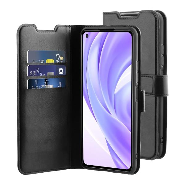 BeHello Xiaomi Mi 11 Lite Gel Wallet Case Black