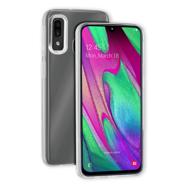 BeHello Samsung Galaxy A40 Thingel Case Transparent
